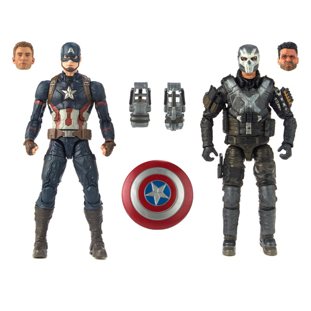 marvel legends marvel studios captain america and crossbones