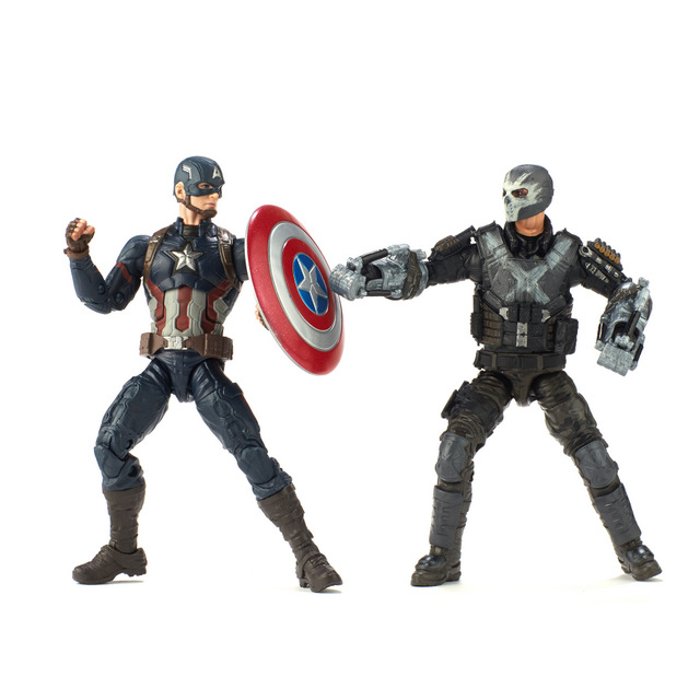 marvel legends marvel studios captain america vs crossbones
