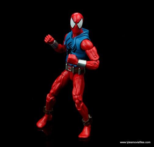 marvel legends scarlet spider-man figure review -ready for battle