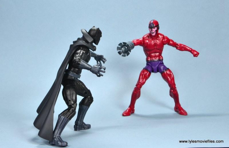 marvel legends shuri and klaw figure review -klaw vs black panther