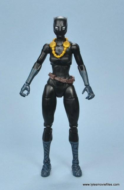 marvel legends shuri and klaw figure review -shuri front