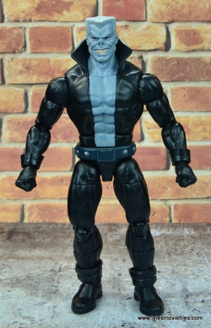marvel legends tombstone figure review -front