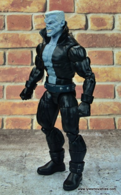 marvel legends tombstone figure review -left side