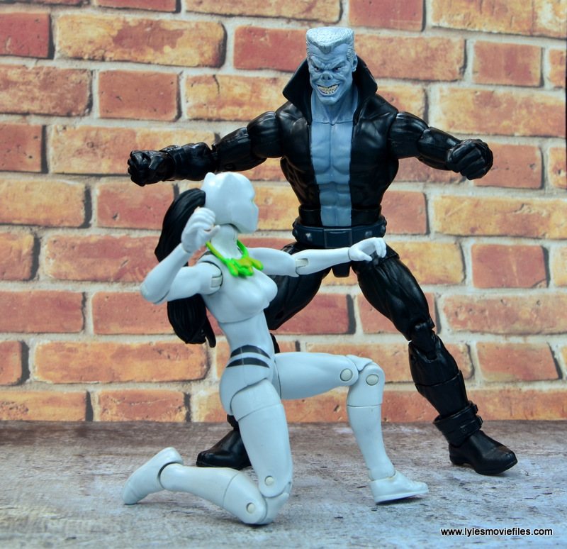 marvel legends tombstone figure review -stalking white tiger