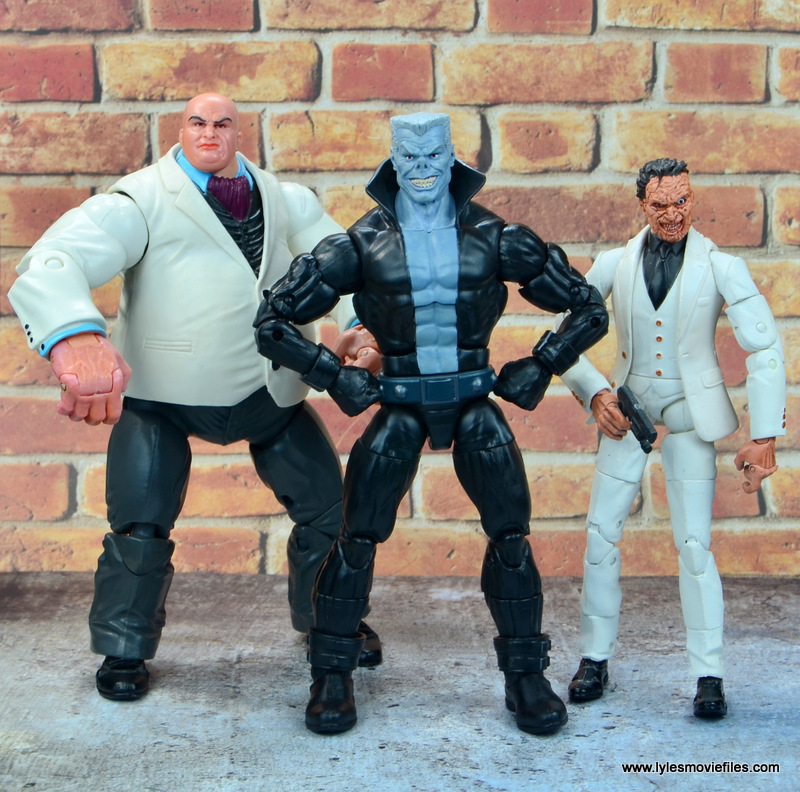 marvel legends tombstone figure review -with kingpin and jigsaw