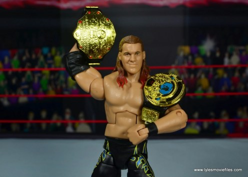 wwe defining moments chris jericho figure review - holding both titles