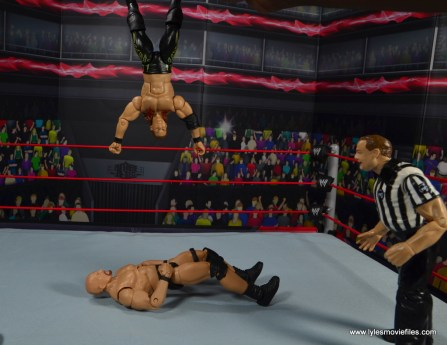 wwe defining moments chris jericho figure review - lionsault to stone cold