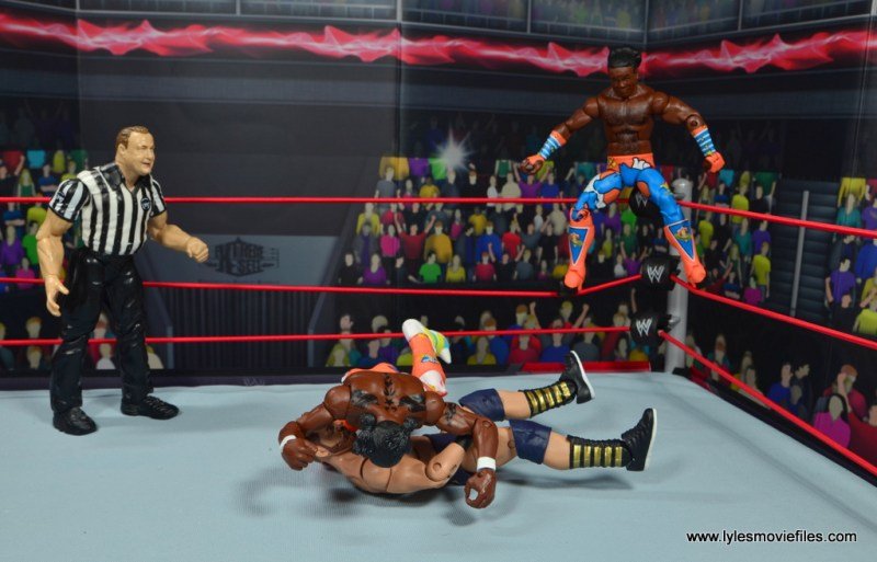 wwe elite 52 new day figure review - kofi splashes