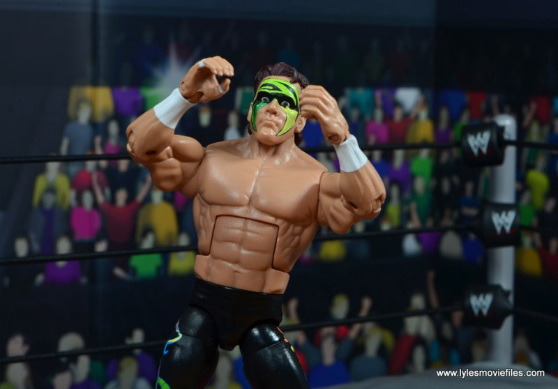 wwe elite bash at the beach sting figure review - howling