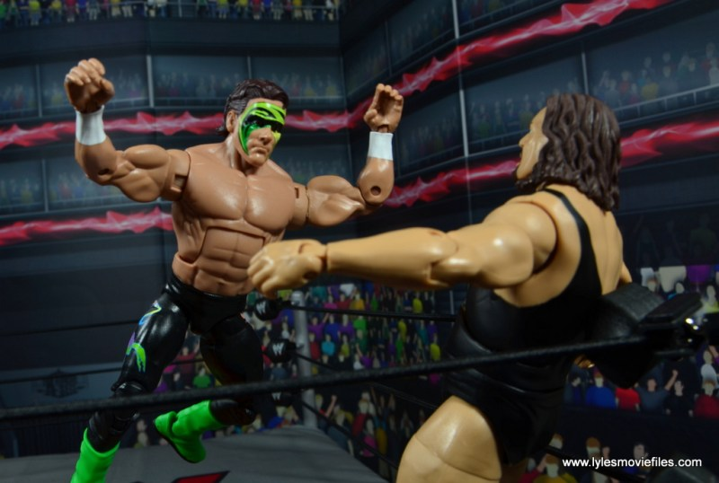 wwe elite bash at the beach sting figure review - stinger splash to the giant