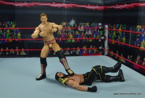 wwe elite chris jericho the list exclusive figue review -cmon baby pose on seth rollins