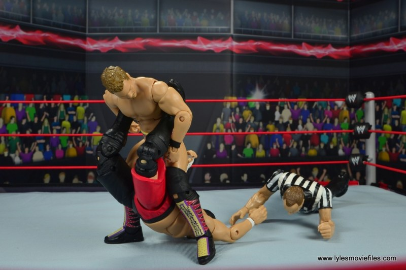 wwe elite chris jericho the list exclusive figue review -walls of jericho to to samoa joe