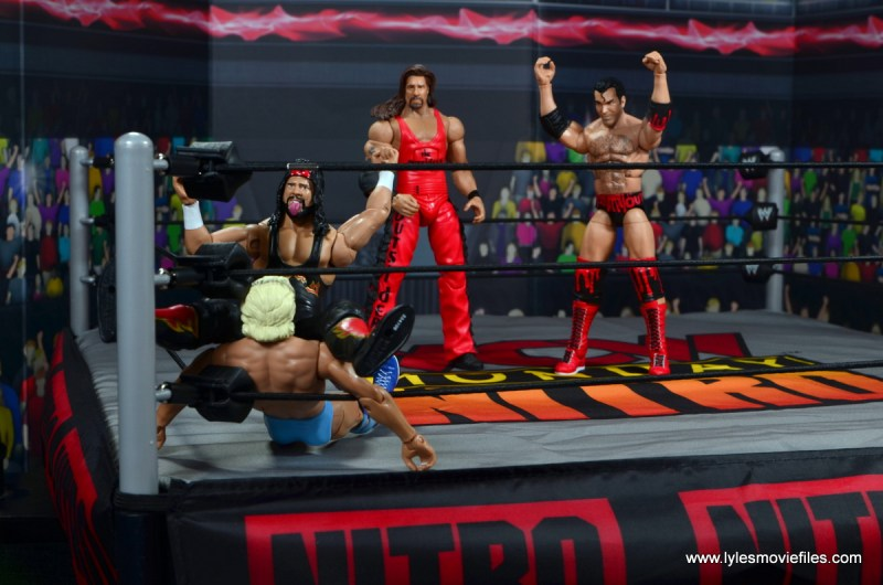 wwe elite flashback series syxx figure review - bronco buster to ric flair