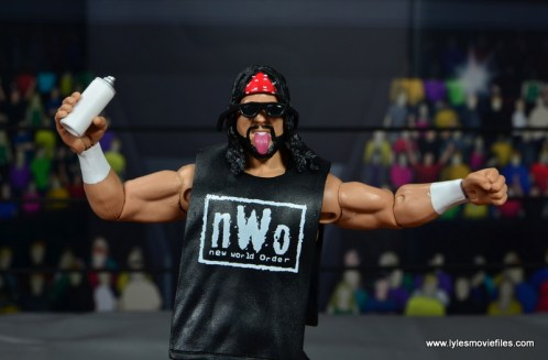 wwe elite syxx figure review - with accessories