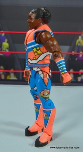 wwe elite xavier woods figure review -left side