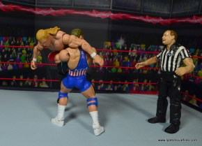 wwe entrance greats kurt angle figure review - belly to belly suplex to triple h