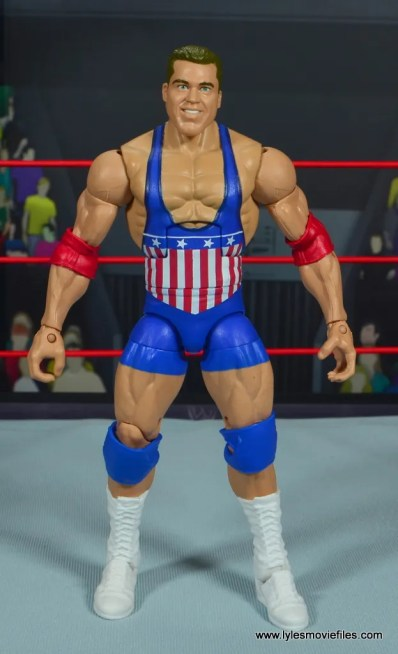 wwe entrance greats kurt angle figure review - front