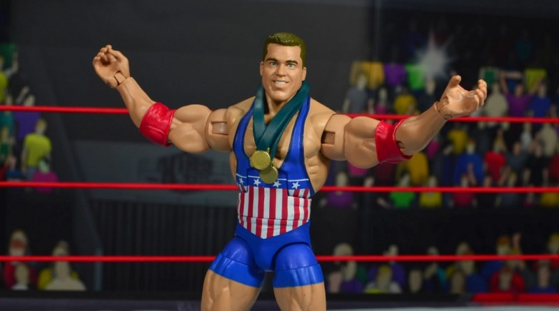 wwe entrance greats kurt angle figure review - main pic