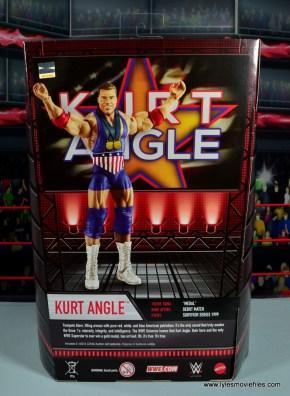 wwe entrance greats kurt angle figure review - package rear