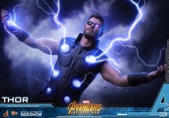 Hot Toys Avengers Infinity War Thor figure Lightning