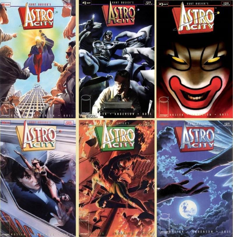 Astro City (cover gallery 2)