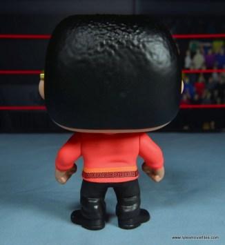 Funko Pop! WWE The Rock figure review - rear