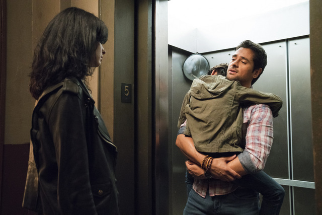 Jessica Jones AKA Shark in the Bathtub, Monster in the Bed review jessica and oscar