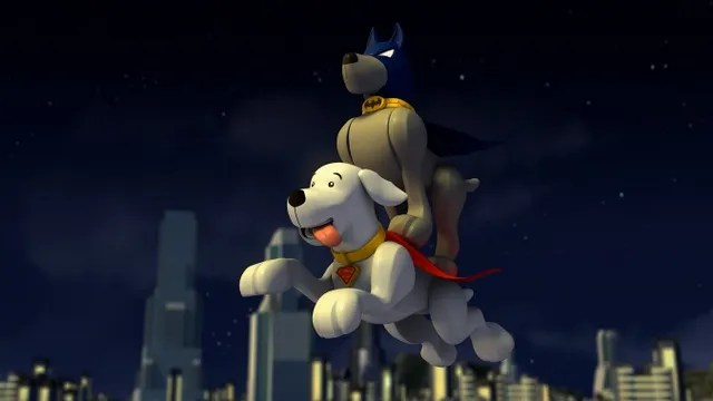 LEGO DC Comics Super Heroes The Flash review krypto and ace the bat hound