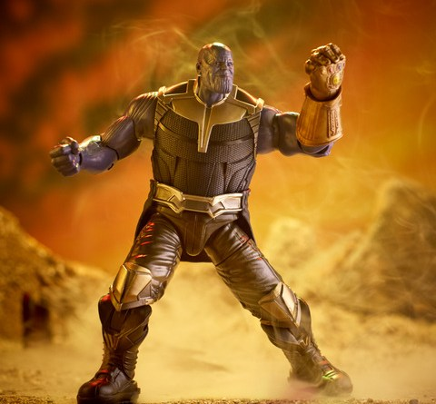 MARVEL AVENGERS INFINITY WAR LEGENDS SERIES 6-INCH Figure Assortment (Thanos) - Build A Figure