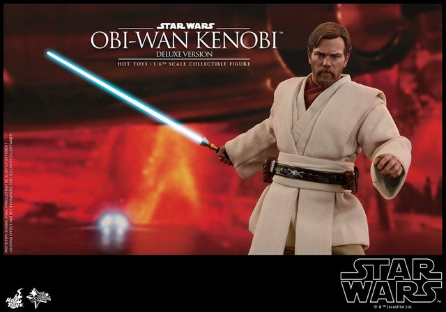 Hot Toys Revenge Of The Sith Obi Wan Kenobi Figure On Mustafar Lyles Movie Files