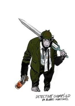 justice league dark detective chimp