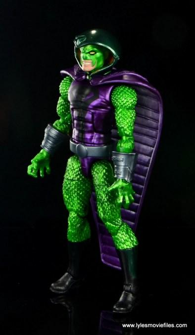 marvel legends king cobra figure review - left side