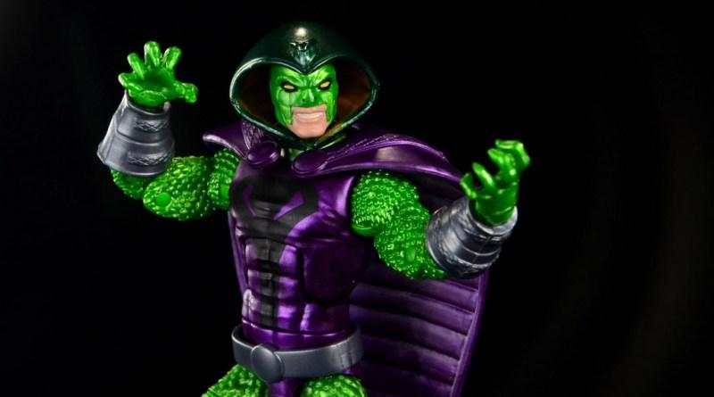 marvel legends king cobra figure review - main pic