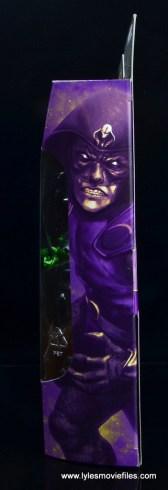 marvel legends king cobra figure review - package side