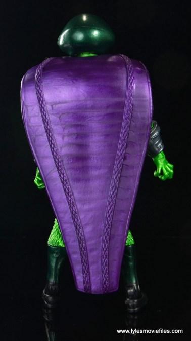 marvel legends king cobra figure review - rear