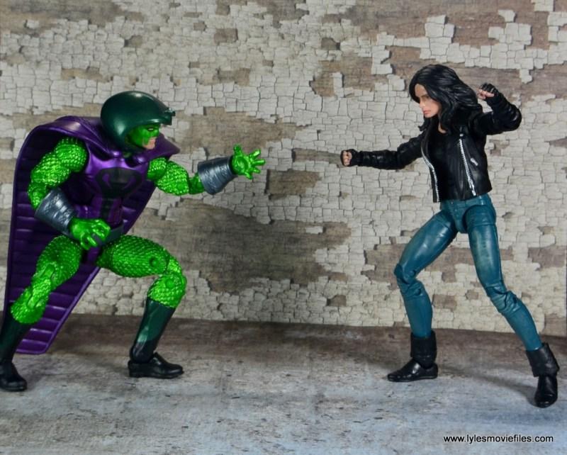 marvel legends king cobra figure review - vs jessica jones