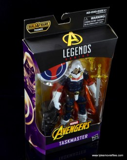 marvel legends taskmaster figure review - package