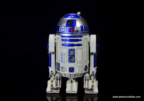 sh figuarts r2d2 figure review - front
