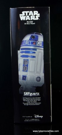 sh figuarts r2d2 figure review - package side