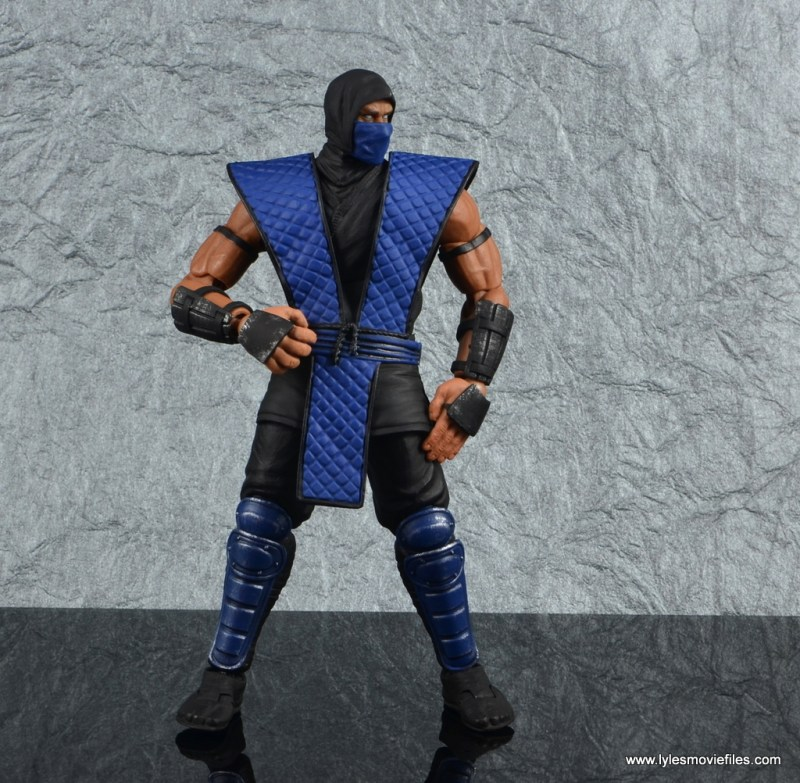 storm collectibles mortal kombat sub-zero figure review - battle stance