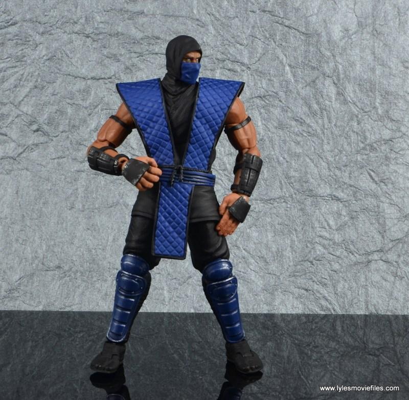 storm collectibles mortal kombat sub-zero figure review - battle stance