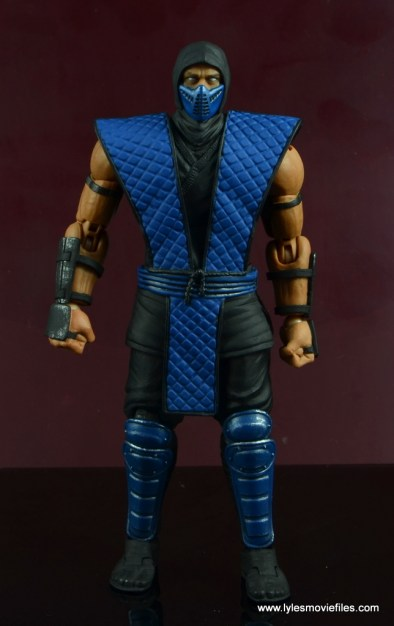 storm collectibles mortal kombat sub-zero figure review - front