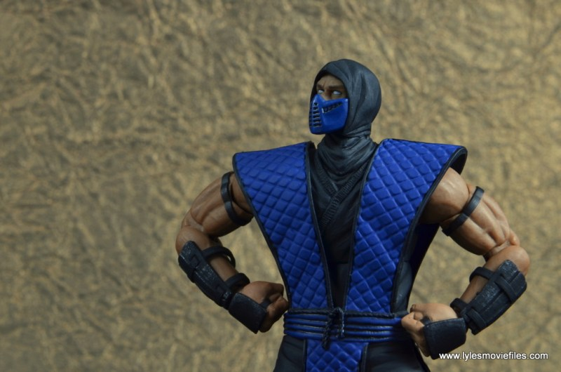 storm collectibles mortal kombat sub-zero figure review -ice blast