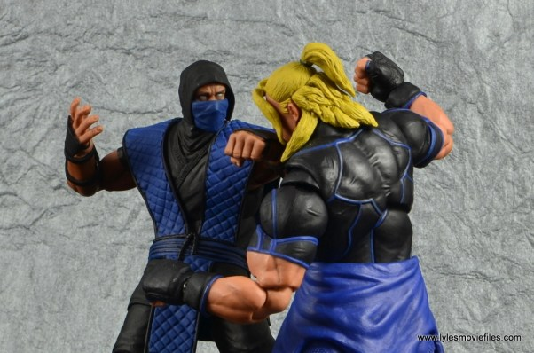 storm collectibles mortal kombat sub-zero figure review -punching ken