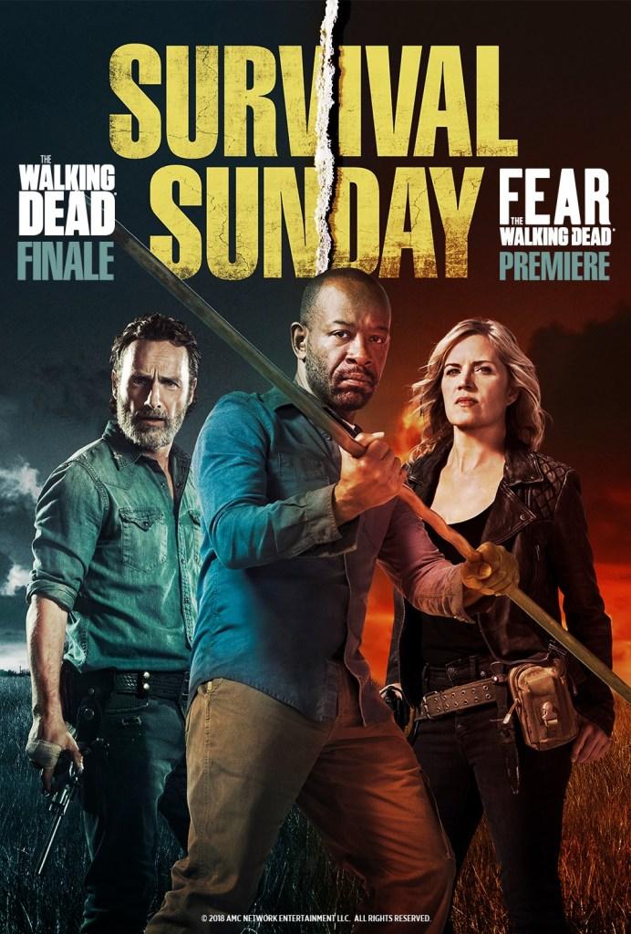 the walking dead survival sunday