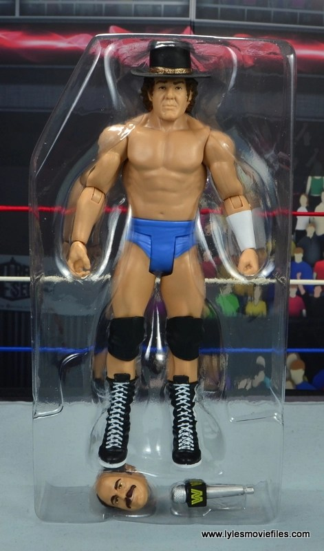 wwe basic cowboy bob orton figure review - in tray
