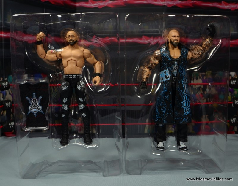wwe elite 56 karl anderson and luke gallows figure review -accessories tray