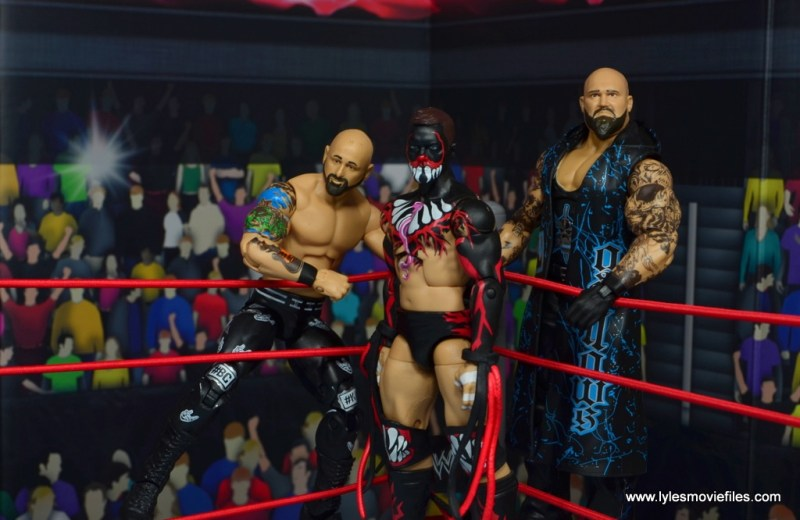wwe elite 56 karl anderson and luke gallows figure review -in the corner with prince devitt