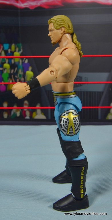 wwe ringside collectibles chris jericho figure review -left side