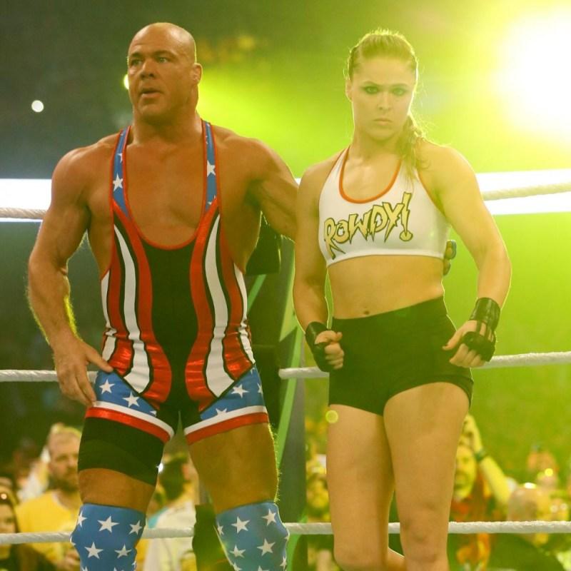 5 Most Wanted WrestleMania Weekend figure kurt angle